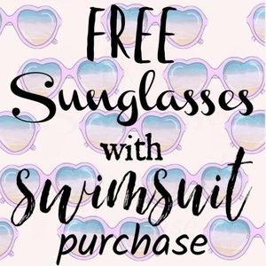 Other - Free Sunglasses with Swisuit Purchase